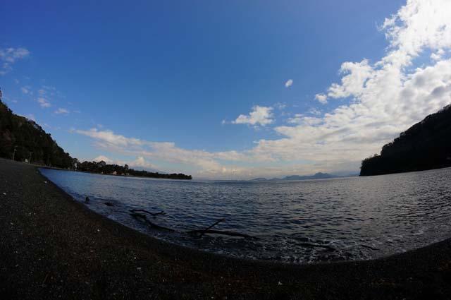湾内から富士