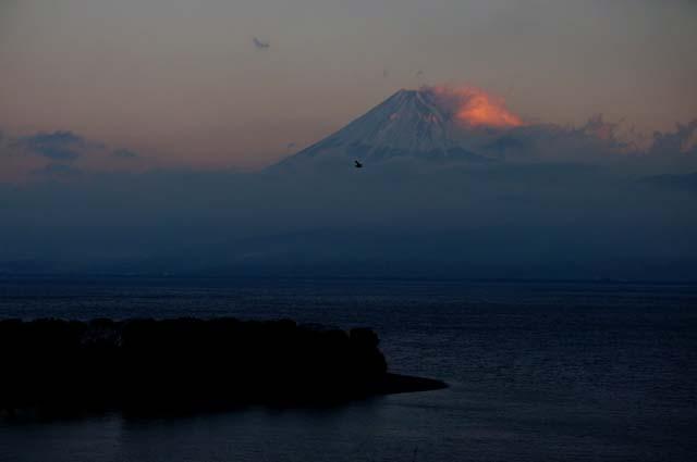大瀬崎と富士