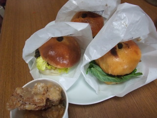 黒豆バーガー