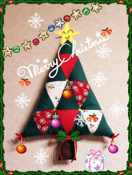 キルト クリスマスツリー