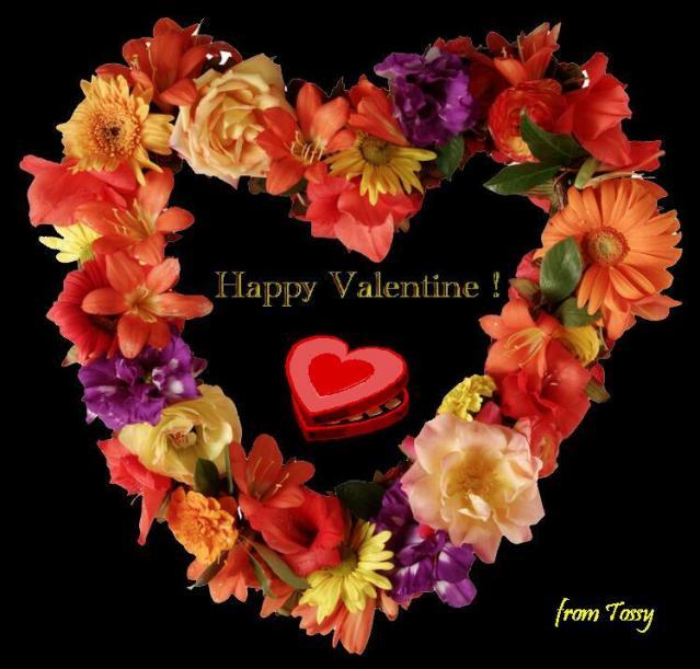 花のバレンタイン