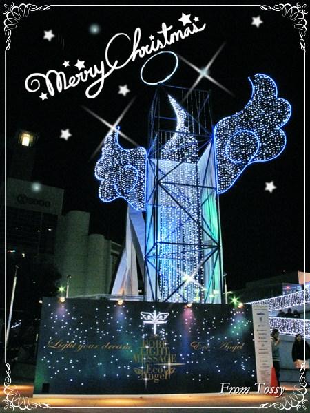 クリスマスカード ECO Angel