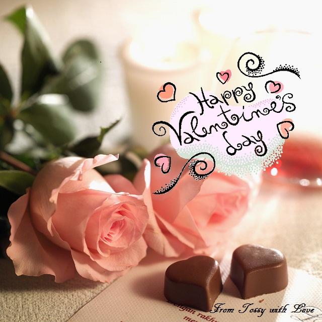 バラ バレンタインカード