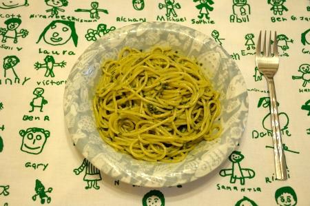 スパゲティーバジリコ