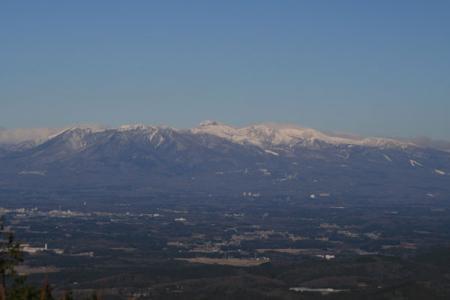 御亭山からの風景