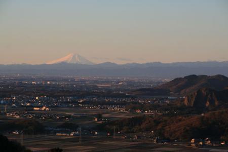 太平山の冬