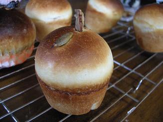 2009.11.13りんごパン 008