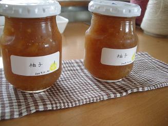 2009.12.22柚子ジャム