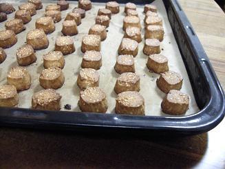 2010.1.15 全粒粉とはちみつのクッキー 006