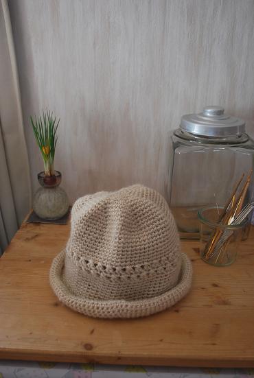 2010.2.21母の手作り帽子