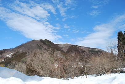 2010.2.26六里山の雪解け (2)