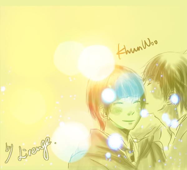 温暖khun佑kiss