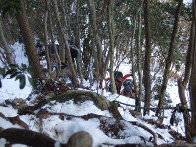 2011_021320100213雪の大山三峰0071