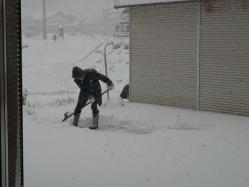 20101231大雪(((p(>◇<)q))) サムイー!!2