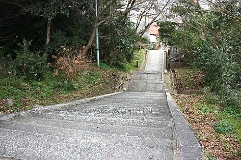 階段があった!