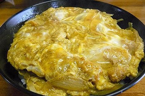 カツ丼カレー味♪
