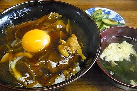 カツカレー丼♪