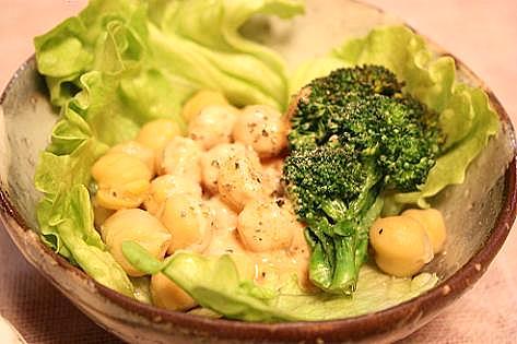 ヒヨコ豆のサラダ♪