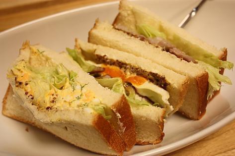 サンドイッチだ!