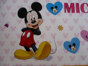 切手「ミッキーとミニー」3