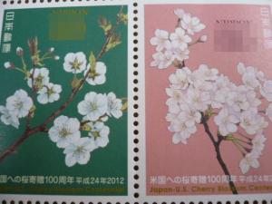 「米国への桜寄贈100周年」2