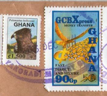 ガーナM切手201112