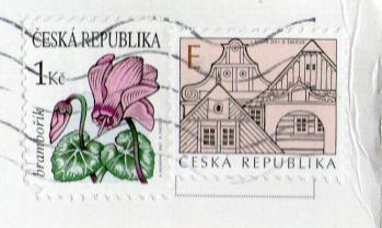 チェコのヤナからサンキューカード20121-2