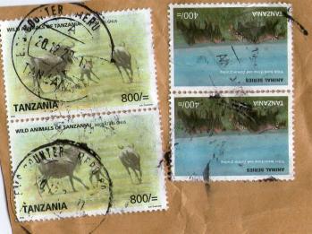 タンザニアR切手201112