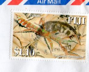 フィジーのAから切手20121