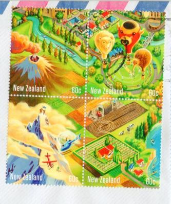 ニュージーランドJ切手20121