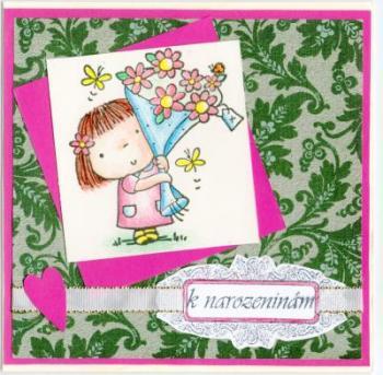 チェコのヤナから誕生日2012年