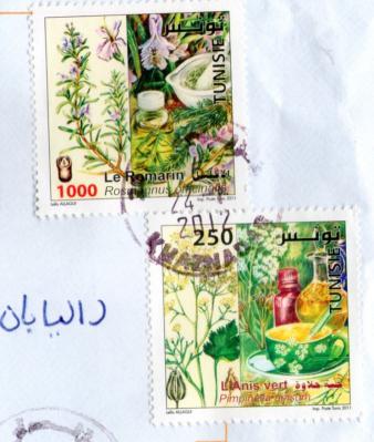 チュニジアS切手20122