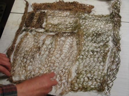 05草カーテン編み上がり