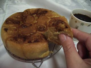 炊飯器シナモンロール