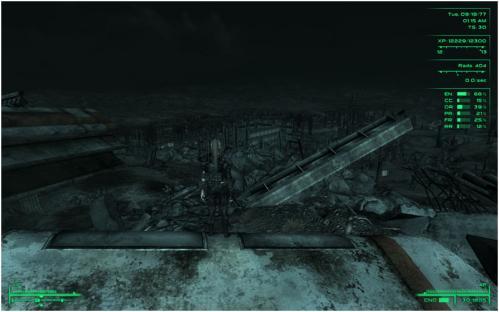 このような荒廃した世界を冒険するゲームなのである