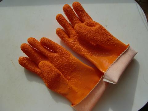 宗八皮むき手袋