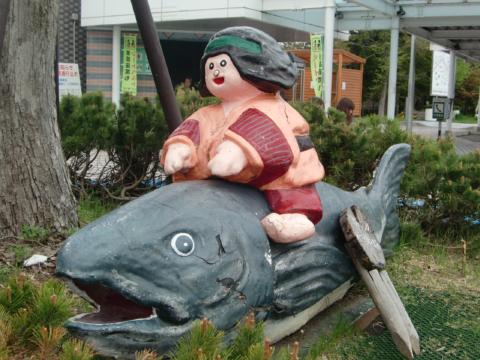 岩見沢PA鮭