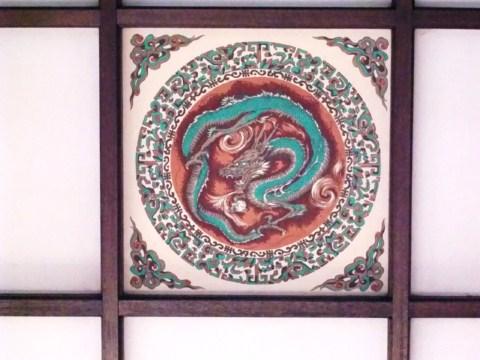 天井花柄2