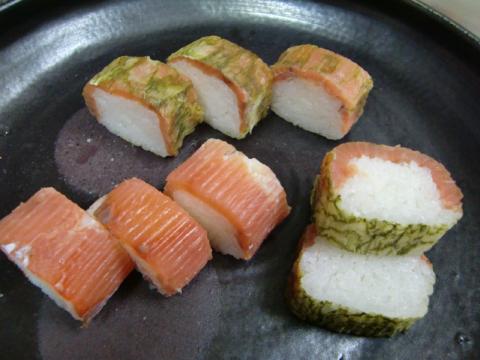 完成マス寿司