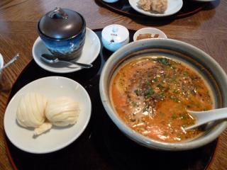 担担麺ランチ