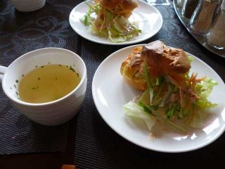 サラダスープ
