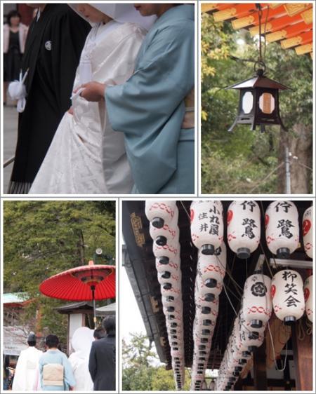 八坂神社にて~