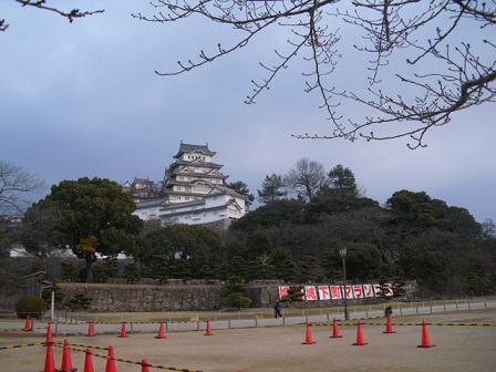 平成22年1月10日姫路城