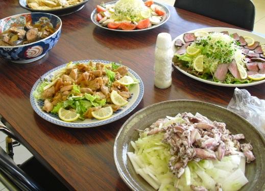 平成22年2月21日本田商店・料理2