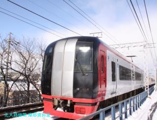 雪の名鉄2009 1