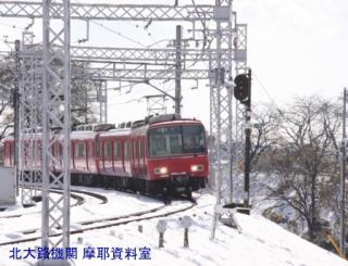 雪の名鉄2009 2