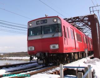 雪の名鉄2009 7