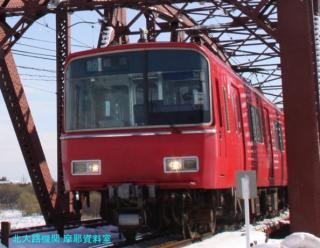雪の名鉄2009 8