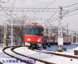 名鉄と雪景色 第二回 5