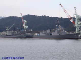 ユニバーサル造船に停泊してる護衛艦とか 1